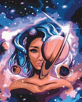 Картини за номерами 40х50 см Brushme Міс Всесвіт (BS 51323)