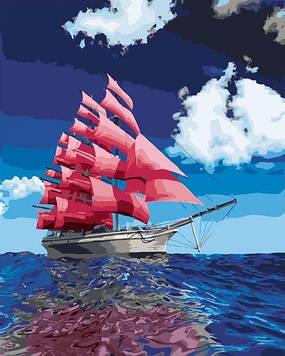 Картини за номерами 40х50 см Brushme Червоні вітрила (GX 21104)