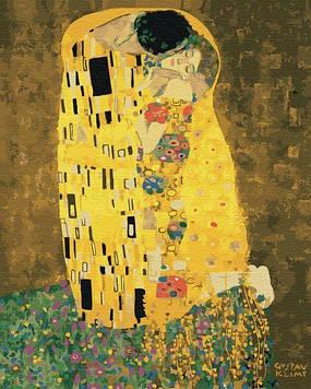 Картини за номерами 40х50 см Brushme «Поцілунок» Густава Клімта (GX 21783)