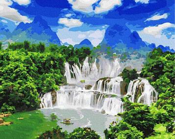 Картини за номерами 40х50 см Brushme Водоспад Детьян (GX 27324)