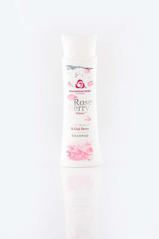 BULGARIAN ROSE ROSE BERRY NATURE SHAMPOO Шампунь для волосся з ягодами годжі