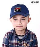 Детская кепка с сеткой Brawl Stars Бравл стар размер 52 на 3 - 6 лет, фото 2
