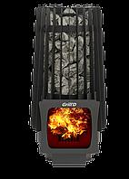 Дров'яна піч для лазні Grill'D Cometa 180 Vega Short Window Max, фото 1