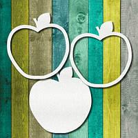 Чипборд шейкер основа яблуко