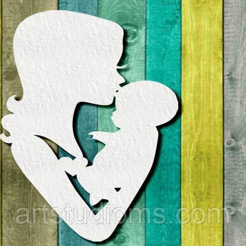 Чипборд Мама з малюком