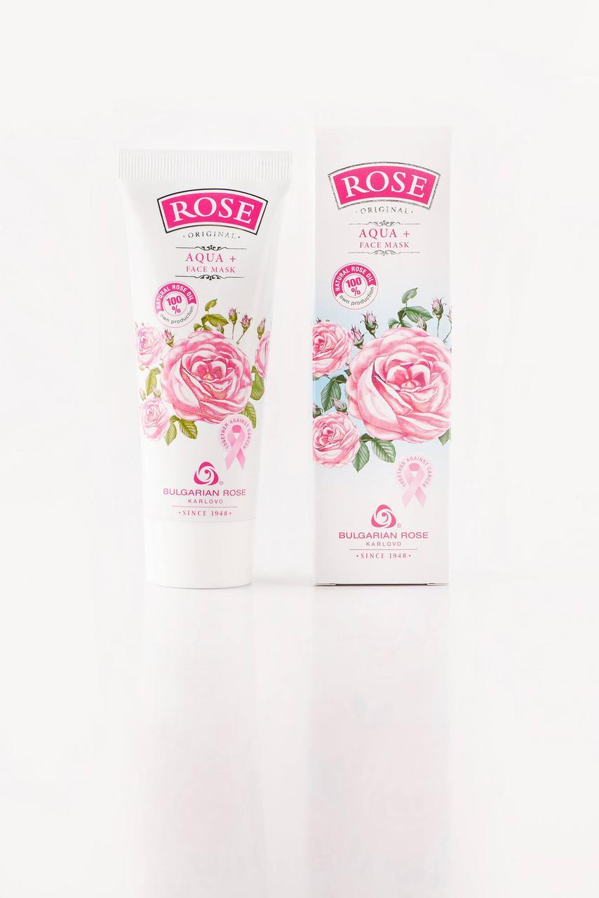 BULGARIAN ROSE ROSE ORIGINAL Aqua+ Face Mask Маска для обличчя з трояндовою олією