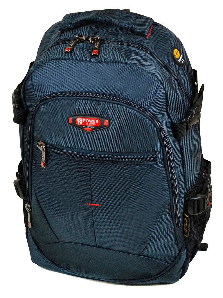 Рюкзак міський відділення для ноутбука Power In Eavas 27.5 л. синій нейлон (9612)