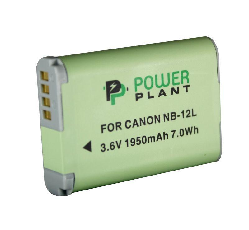 Акумулятор для відеокамери Canon NB-12L (1950 mAh) DV00DV1404 PowerPlant