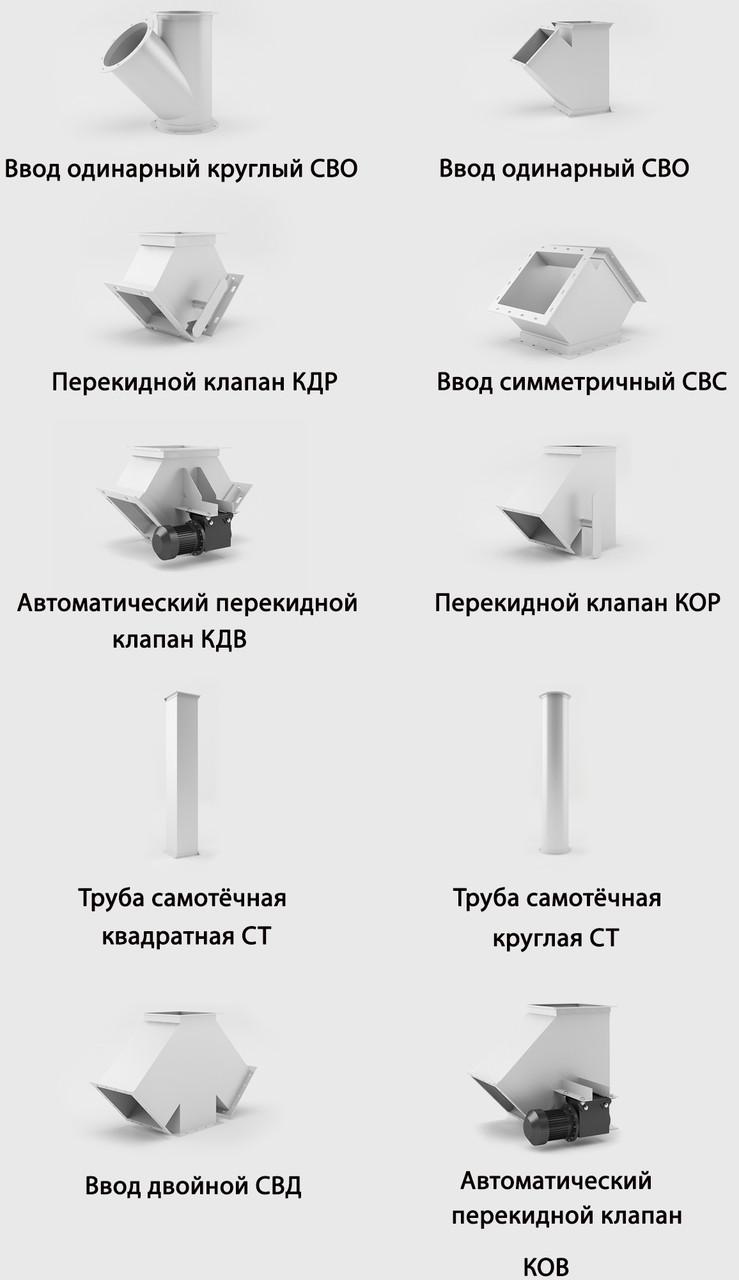 """Самотечное оборудование - ГК """"Зерновая Столица"""" в Одессе"""