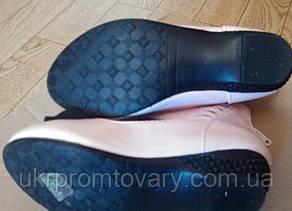 Туфли розовые для девочки на каблучке 3-4-5 лет, фото 2