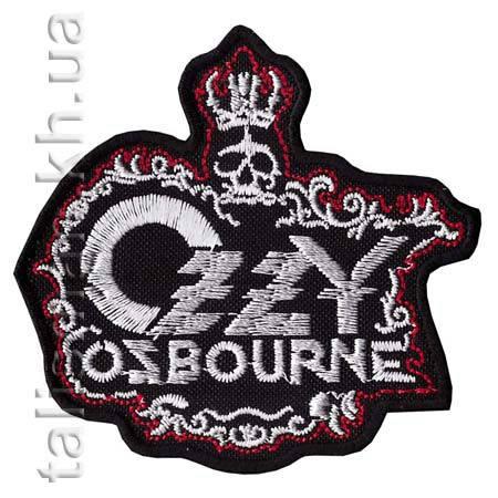 Нашивка с вышивкой OZZY OSBOURNE-2 корона, фото 2