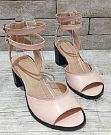 Женские кожаные босоножки  сандалии TIFFANY на танкетке платформе оптомс блестящей подошвой