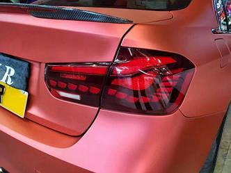 Фонари BMW F30 (13-18) тюнинг OLed оптика (красные)