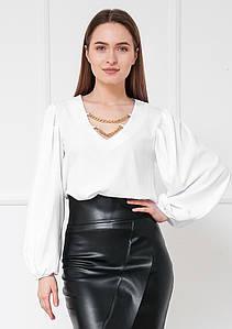 Жіноча блузка сорочка вільний крій 42-44, 46-48, 50-52