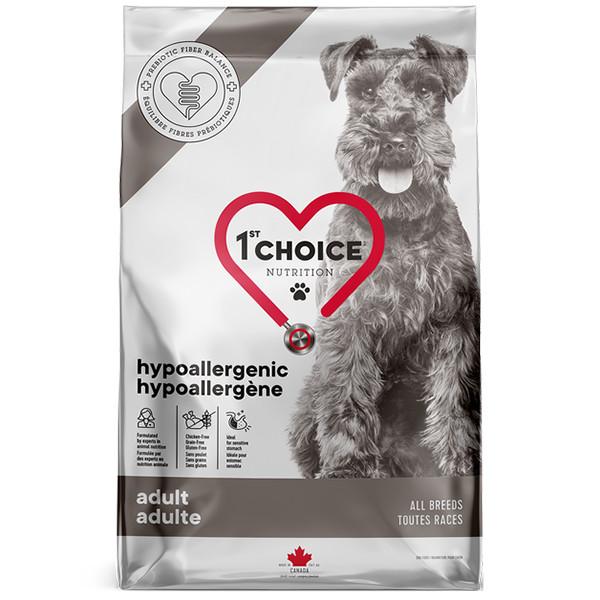 1st Choice Hypoallergenic Adult гипоаллергенный корм для собак с уткой и картофелем