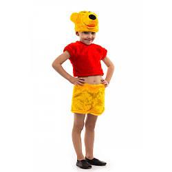 Карнавальный костюм МЕДВЕДЬ ВИННИ ПУХ для мальчика 3,4,5,6,7 лет детский маскарадный костюм ВИННИ ПУХА