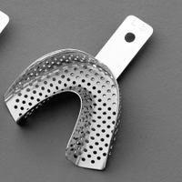 Ложка стальная L0 перфорированная на нижнюю челюсть 6003/L0 Medesy