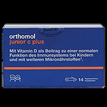 Витамины Ортомол Джуниор с-плюс жевательные таблетки мандарин-апельсин и лесные ягоды 14 дней Orthomol Junior
