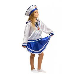 Детский карнавальный костюм МОРЯЧКА для девочки на 4,5,6,7,8,9 лет, новогодний костюм МОРЯЧКИ