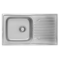 Кухонная мойка ULA 7204 ZS Satin 08 (мойка 7843 нержавейка)