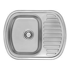 Кухонная мойка ULA 7704 ZS Micro Decor 08 (мойка 6349 нержавейка)