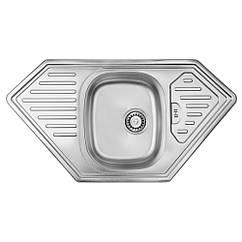 Кухонная мойка ULA 7801 ZS Micro Decor 08 (мойка 9550 нержавейка)