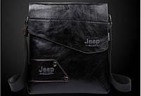 Мужская кожаная сумка Jeep. Модель 04266, фото 4