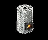 Дров'яна піч для лазні Grill'D Violet Steel Romb Short (Жадеїт 100кг), фото 1