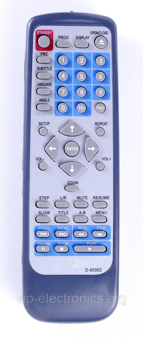 Пульт DVD D-80002 як оригінал
