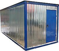 Конструкции металлических бытовок