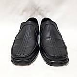 Чоловічі шкіряні туфлі, прошиті дуже якісні, фото 3