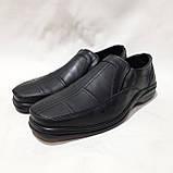 Чоловічі шкіряні туфлі, прошиті дуже якісні, фото 4