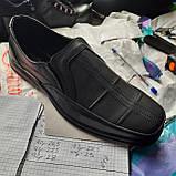 Чоловічі шкіряні туфлі, прошиті дуже якісні, фото 9
