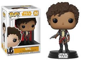 Фигурка Funko Pop Вал Звездные Войны Star Wars Val 10см SW V 243