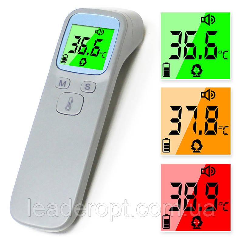 ОПТ Универсальный Бесконтактный электронный инфракрасный термометр медицинский Sunphor на лоб для тела