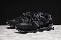 Кроссовки мужские 17487 ► New Balance 574, черные . [Размеры в наличии: 44,46], фото 1
