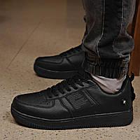 Кроссовки мужские 18141 ► Air Force 1, черные . [Размеры в наличии: 42,43,44,45], фото 1