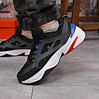 Кроссовки мужские 18202 ► Nike M2K Tekno, черные  (качество AAA). [Размеры в наличии: 41,42,43,44,45,46], фото 1