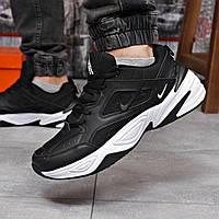 Кроссовки мужские 18203 ► Nike M2K Tekno, черные  (качество AAA). [Размеры в наличии: 44], фото 1