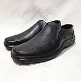 Мужские кожаные туфли, прошитые очень качественные, фото 4