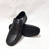 Мужские кожаные туфли, прошитые очень качественные, фото 3