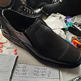 Мужские кожаные туфли, прошитые очень качественные, фото 9