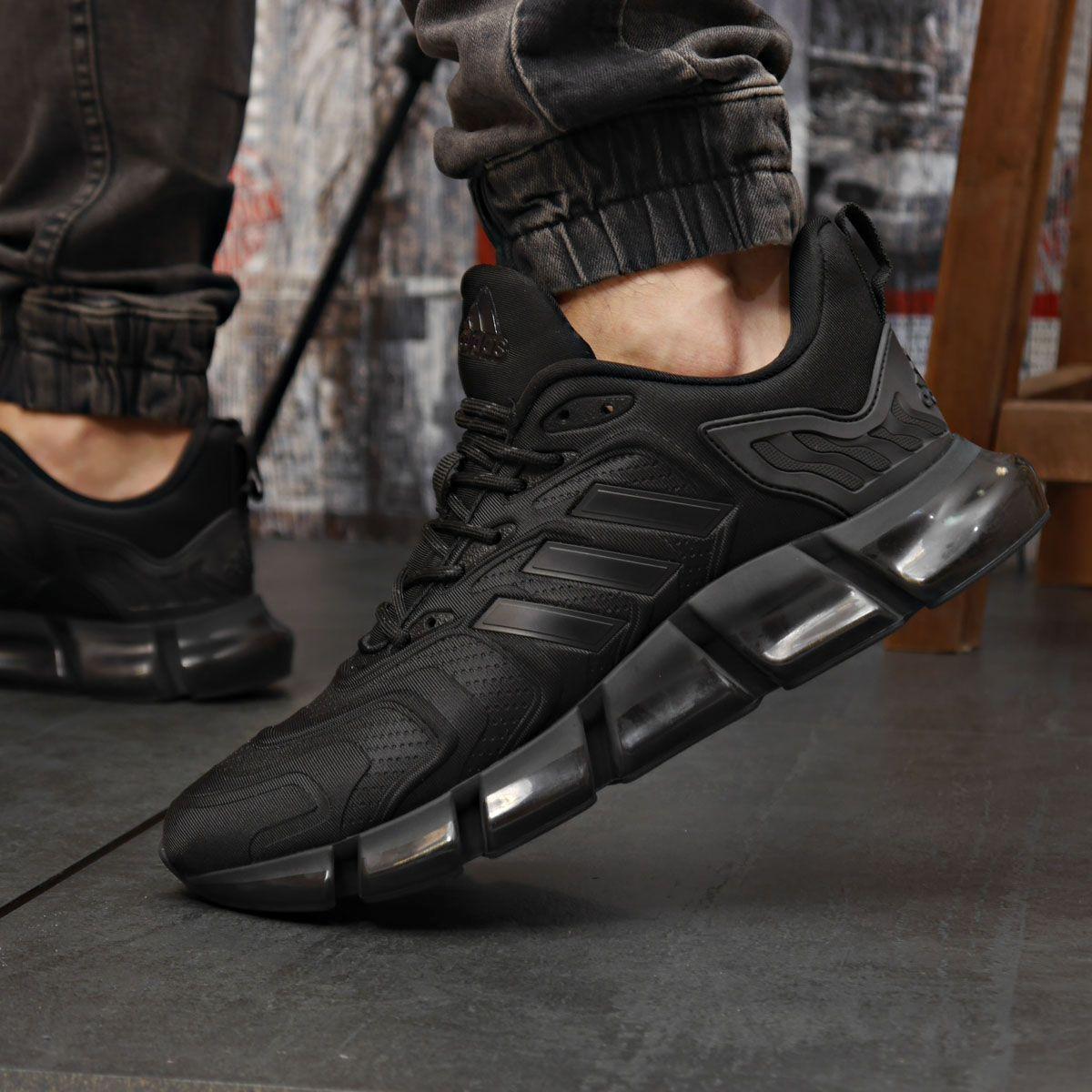 Кроссовки мужские 18311 ► Adidas x Pharrell Vento (TOP AAA), черные . [Размеры в наличии: 41,42,43,44]