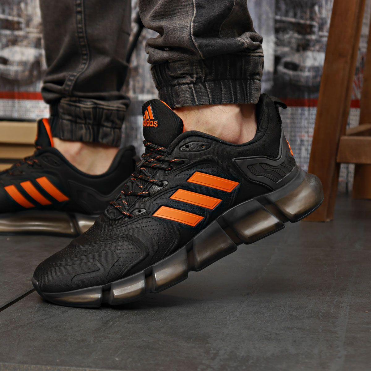 Кроссовки мужские 18313 ► Adidas x Pharrell Vento (TOP AAA), черные . [Размеры в наличии: 41,42,43,44]