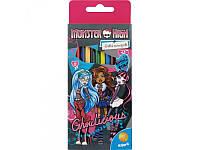Карандаши цветные Monster High Kite, 12 шт