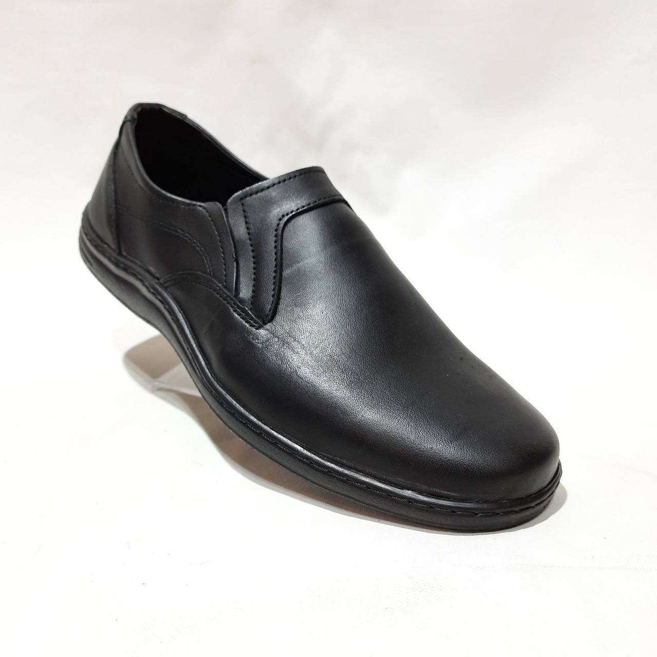 Мужские кожаные туфли, прошитые очень качественные