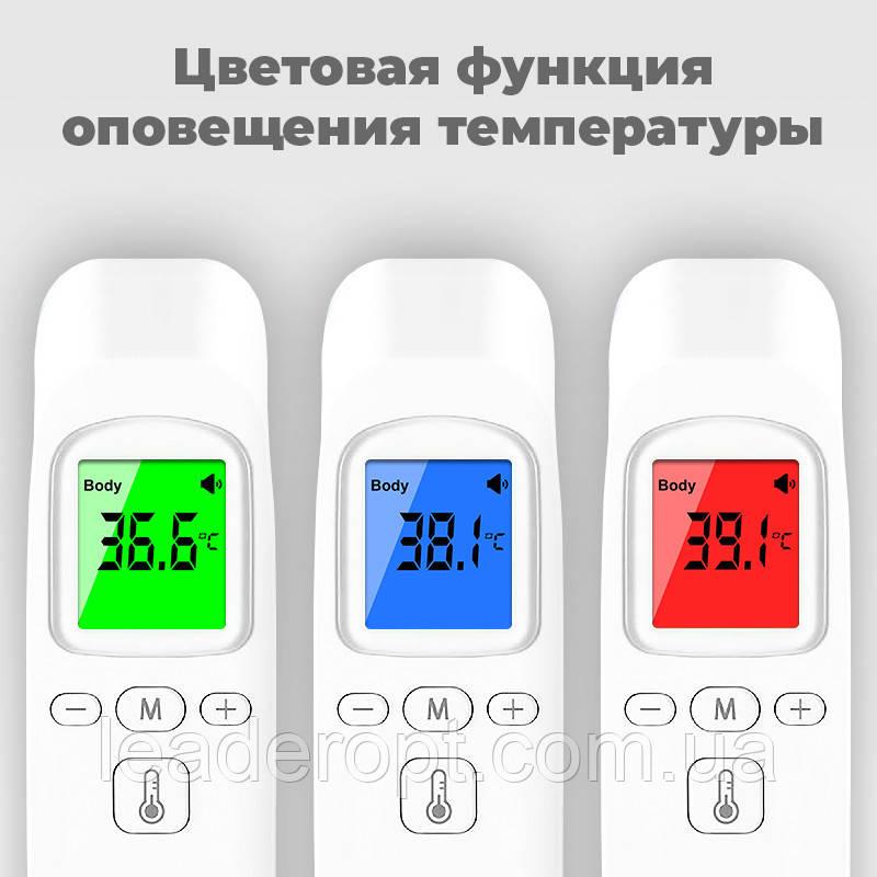 ОПТ Универсальный Бесконтактный электронный инфракрасный термометр медицинский Phicon на лоб для тела