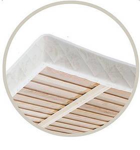 Каркасный матрас на каркасе с фанерной решеткой на пружинном блоке Bonnel
