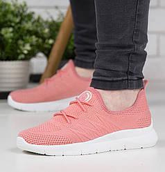 Кросівки жіночі рожеві сітка 38р