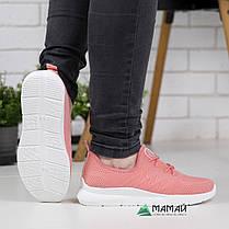 Кросівки жіночі рожеві сітка 38р, фото 2